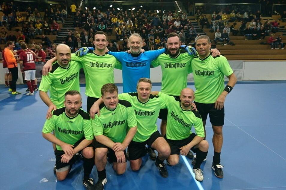 Am Sonntag treten diese Ex-Bundesligaprofis gegen eine Freitaler Mannschaft an.