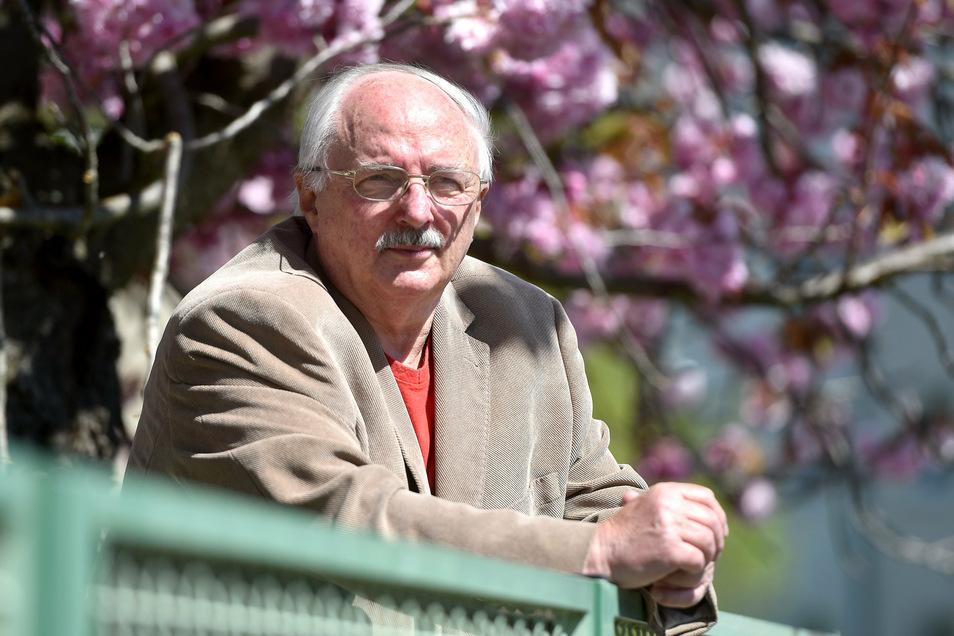 Der Vorsitzende des Kreisseniorenrates, Joachim Herrmann, aus Löbau.