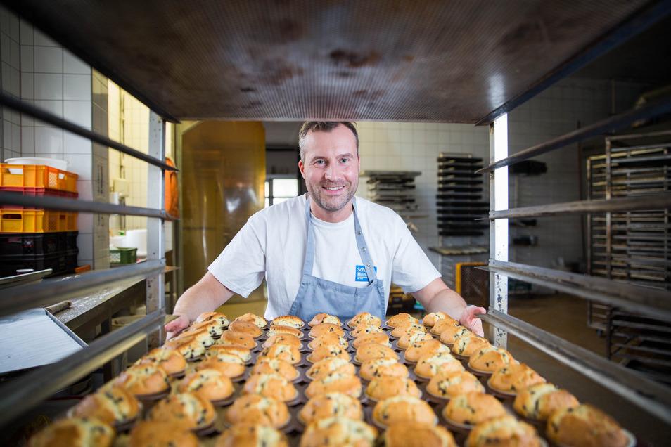 Bäcker Michael Langer hat 2018 einen Traditionsbetrieb übernommen.