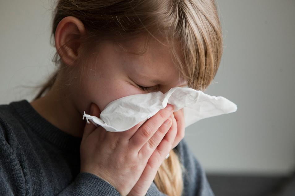 Ständiges Geschniefe: Für Kinder mit Asthma ist die kalte Jahreszeit besonders belastend.