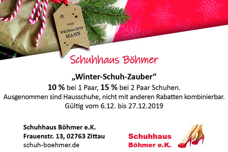 Schuhhaus Böhmer e.K., Frauenstr. 13, 02763 Zittau