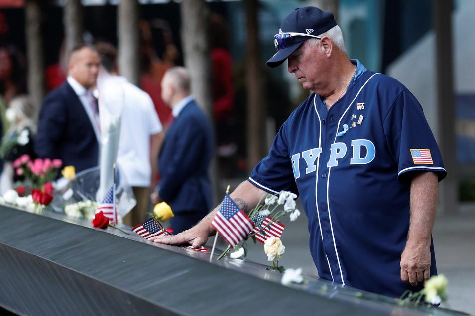 In New York wurde am Samstag den Anschlägen vom 11. September 2001 gedacht.