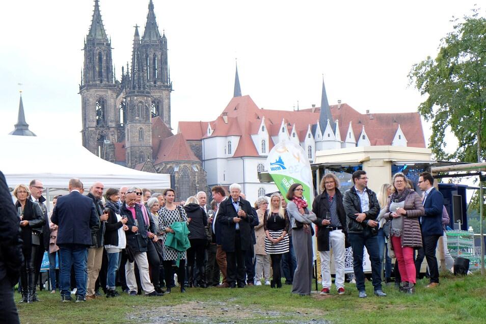 Über 200 Gäste hatten sich zum Sommerfest auf dem Crassoberg eingefunden.