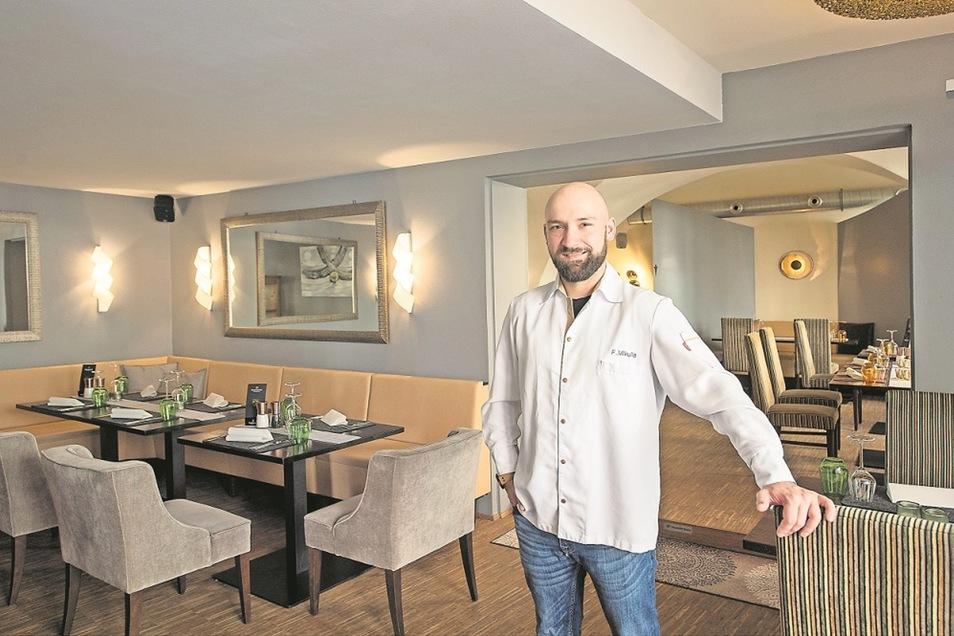 Felix Mikulla ist Chef des neuen Restaurants Felsenbirne.