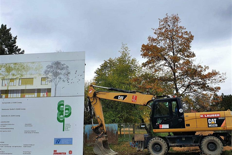 Baubeginn für die neue Kita an der Salzstraße.