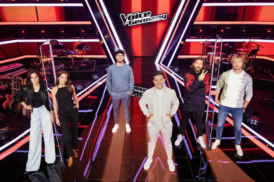 """So wird die Jury von ,,The Voice of Germany"""" nicht mehr aussehen: Stefanie Kloß, Yvonne Catterfeld (links), Samu Haber und Rea Garvey (rechts) steigen aus."""