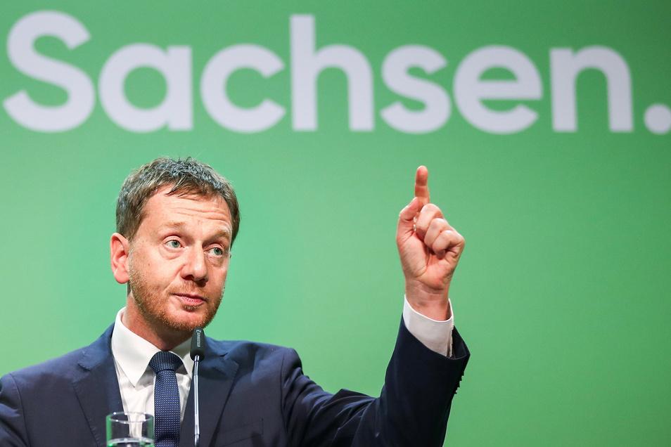 Auch wenn mancher in seiner Partei anders denkt: Michael Kretschmer schließt jedes  Zusammengehen mit der AfD  aus.