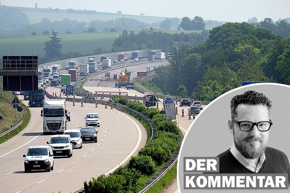 Warum staut es sich immer wieder auf der A4? Das Verkehrschaos rund um die europäische Ost-West-Tangente hat tiefgreifende wirtschaftliche und politische Gründe.