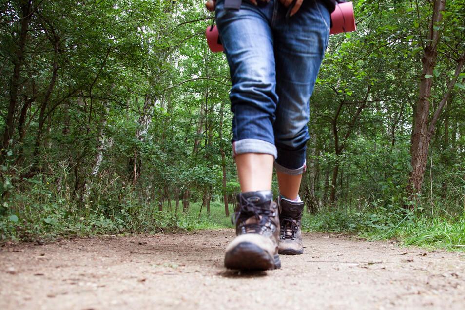 Beim Laufen in der Natur kann man einmal ganz in Ruhe auf sich selbst und sein Leben schauen.