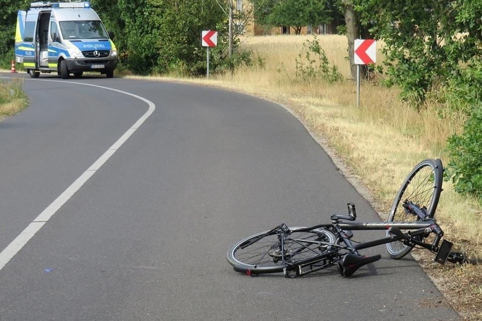 Eine Aufnahme des Unfallorts.