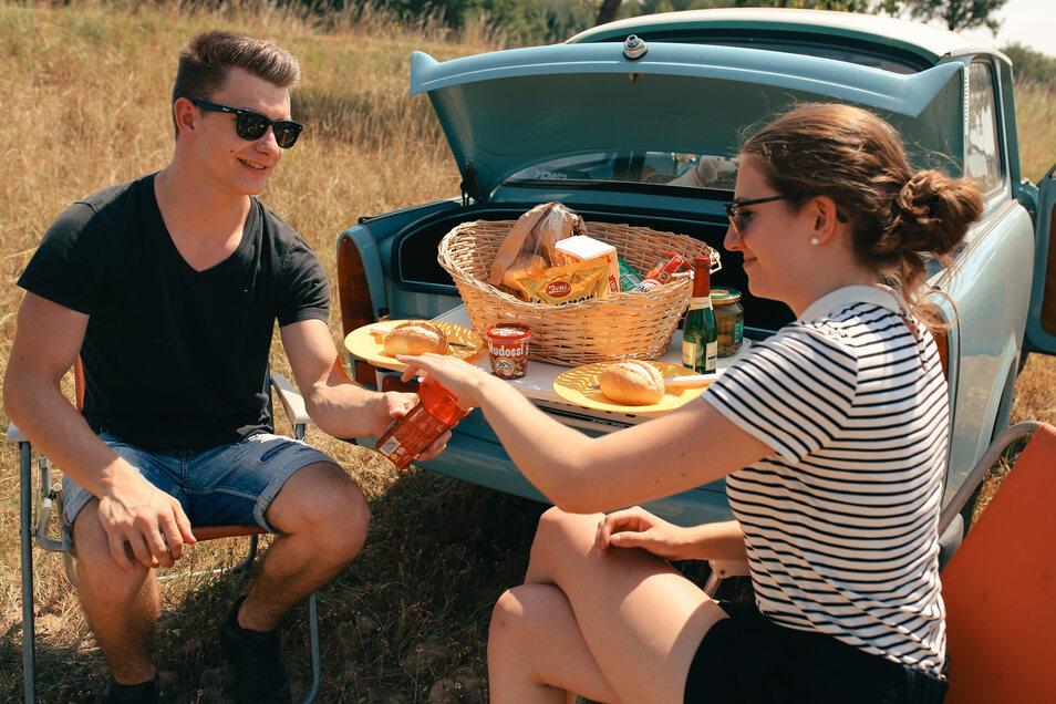 Mit der Rennpappe zum Picknick