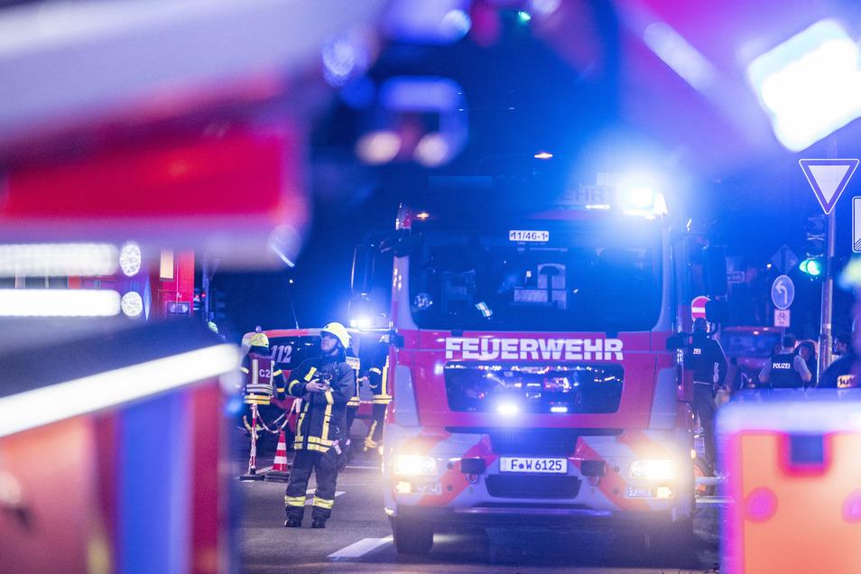 Die Feuerwehrautos und die Kameraden der Wehren im Kreis Meißen sollen nach und nach alle in modernen Gebäuden unterkommen.