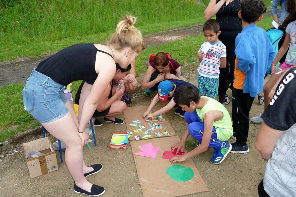 Kinderfest im Deciner Roma-Zentrum: Wegen Corona wird es im Juli nachgeholt.