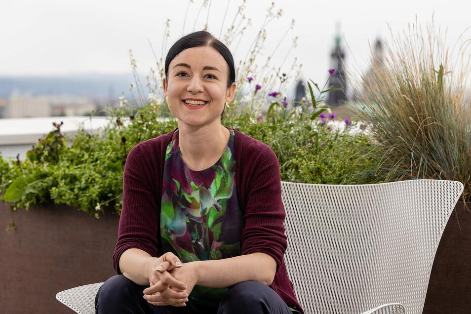 Die Radiologin Paula Piechotta zieht für die Grünen zum ersten Mal in den Bundestag ein.