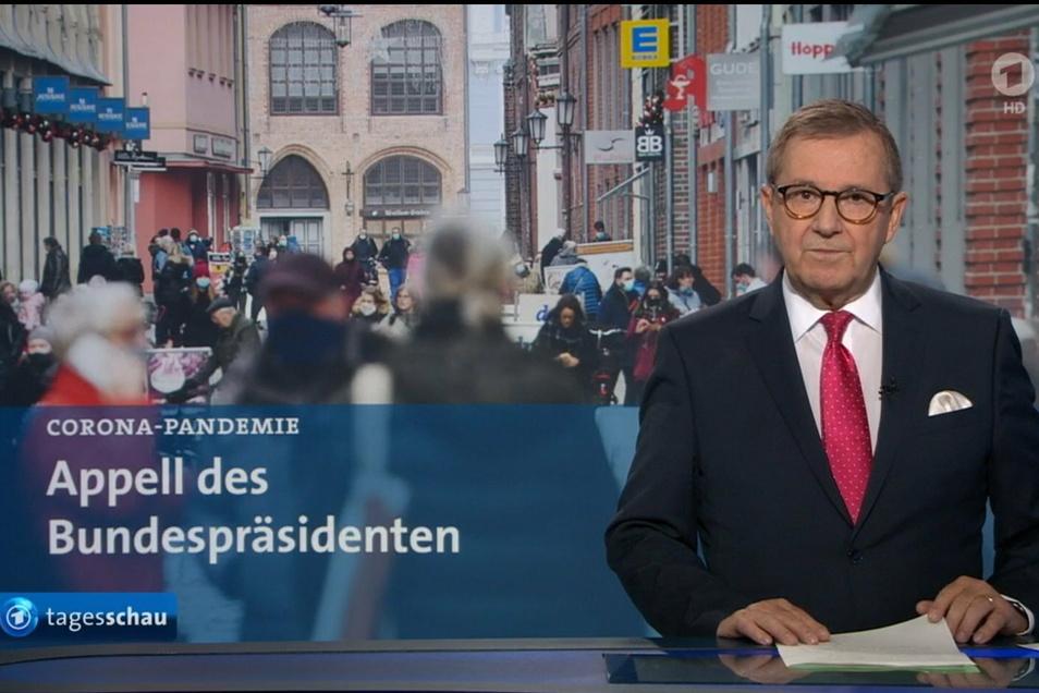"""Jan Hofer, Chefsprecher der """"Tagesschau"""", hört im Dezember 2020 bei der quotenstärksten Nachrichtensendung des deutschen Fernsehens auf."""
