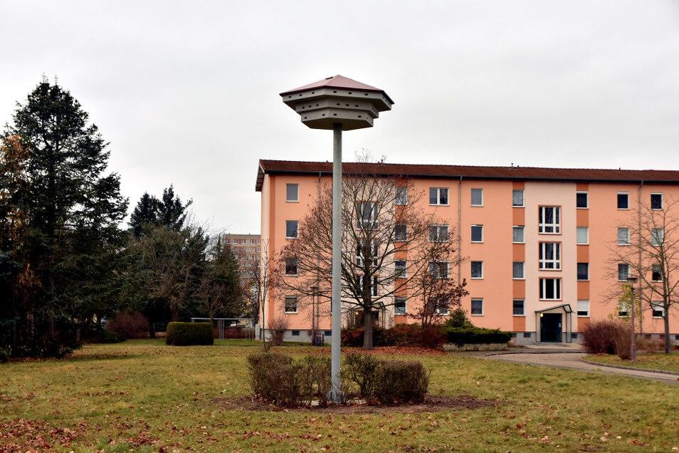 Mauersegler und Sperlinge zählen zur Zielgruppe für den neuen Wohnraum im WK VI – der Artenschutzturm in der Armstrongstraße ist bezugsfertig.