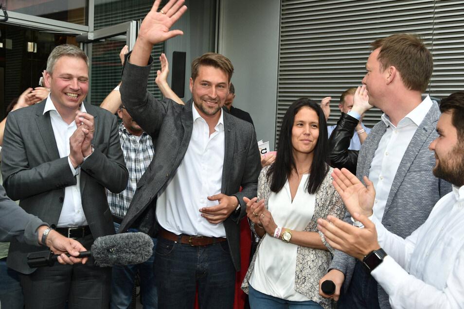 Der Sieger der Oberbürgermeister-Wahl in Saarbrücken: Uwe Conradt. 0,6 Prozent lag er vorn.