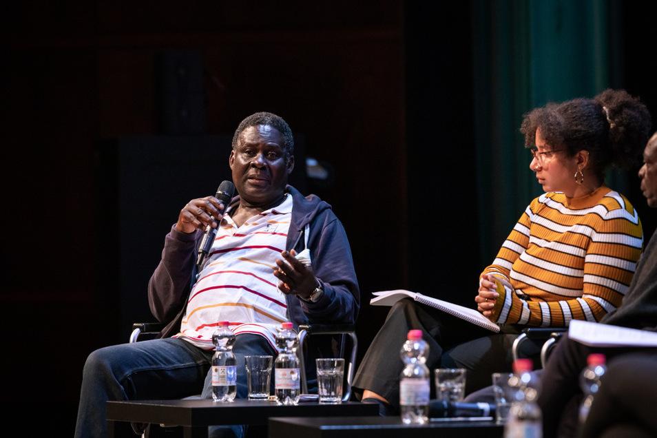 Emmanuel Adu-Agyeman war am Wochenende zu Gast in Hoyerswerda, 30 Jahre, nachdem er hier dramatische Szenen erlebt hat.