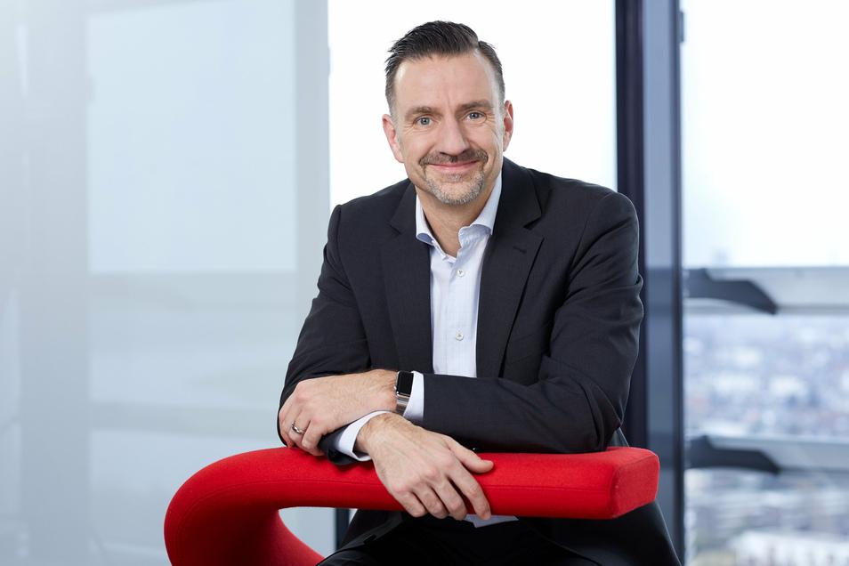 Vodafone-Chefnetzplaner Guido Weissbrich ist verantwortlich für Planung, Bau und Optimierung des Netzes in Deutschland, im Mobilfunk wie im Festnetz.