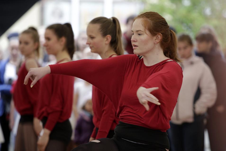 Die BC Dancer vom SV Biehla zeigten ihr Können. Foto: Matthias Schumann