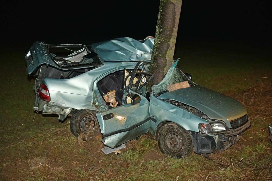 Am 16. März 2019 kam es in Cunewalde zu einem schweren Verkehrsunfall. Der Fahrer des Honda Civic erlag noch am Unfallort seinen Verletzungen.