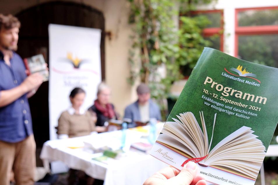 Über 170 Lesungen finden dieses Jahr auf dem Literaturfest statt.