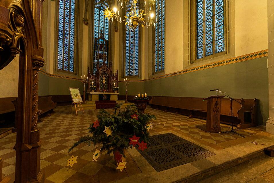 Zur stillen Einkehr sind über Weihnachten die meisten Kirchen geöffnet. Viele haben Gottesdienste bis 10. Januar abgesagt.