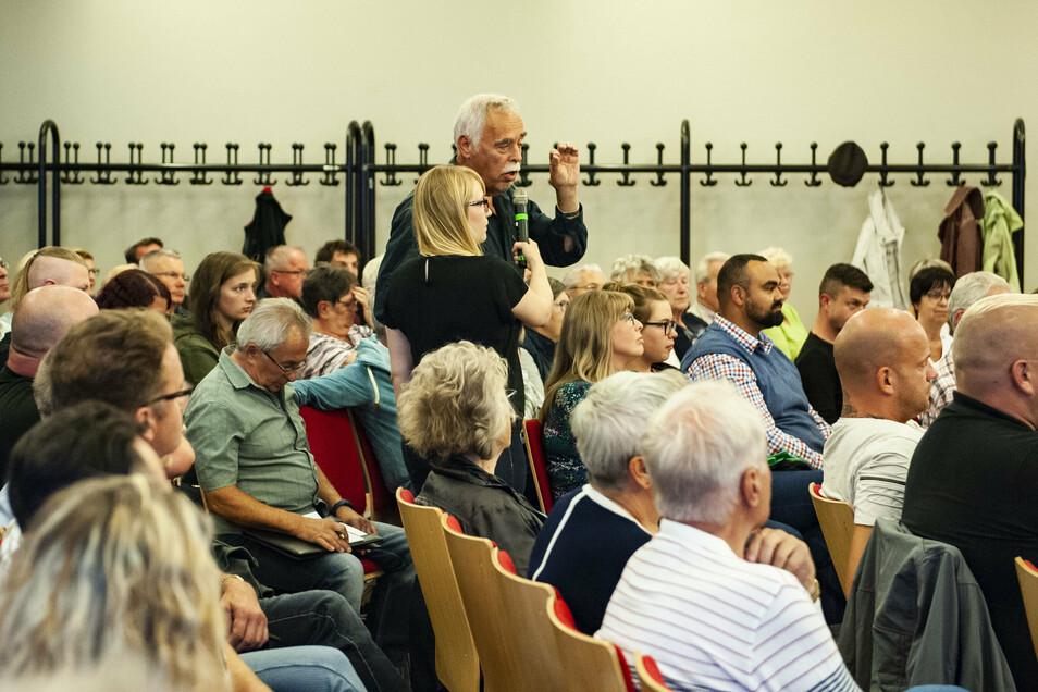 Der Alberttreff ist als soziokulturelles Zentrum auch Schauplatz von Bürgerversammlungen wie hier vor der Wahl im Vorjahr.