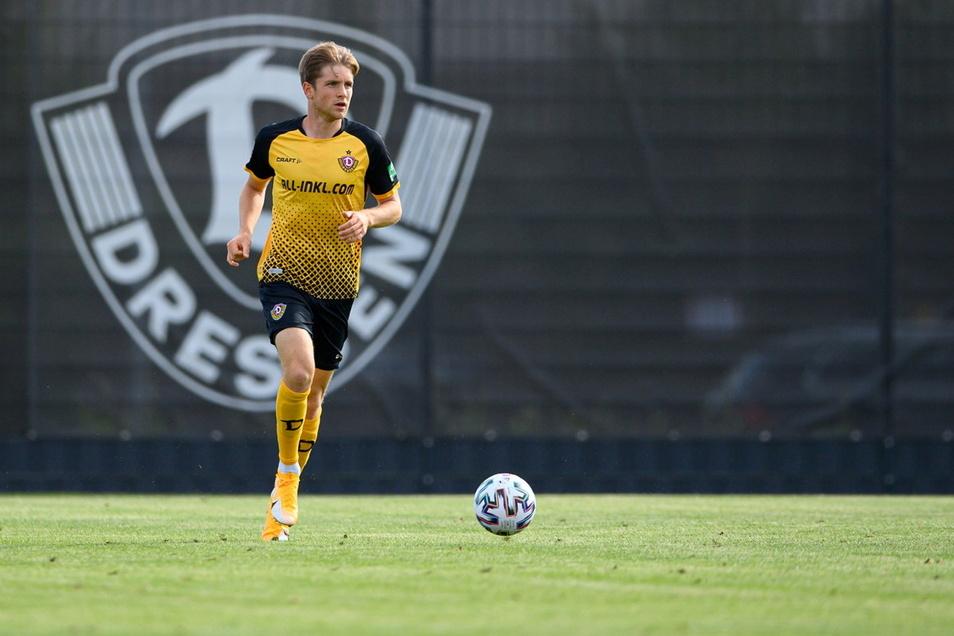 In der Hinrunde war Patrick Weihrauch ein wichtiger Leistungsträger bei Dynamo - bis ihn eine komplizierte Verletzung des rechten Sprunggelenks stoppte.