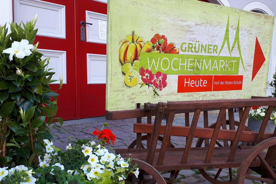 Der grüne Wochenmarkt fand in diesem Jahr 17 Mal statt.