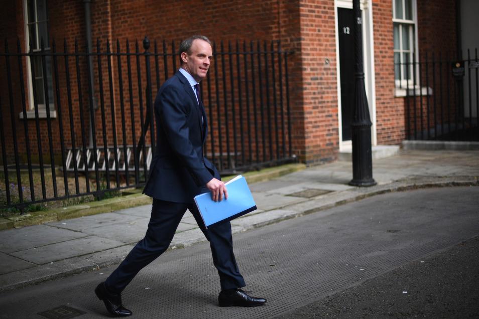 Großbritanniens Außenminister Dominic Raab
