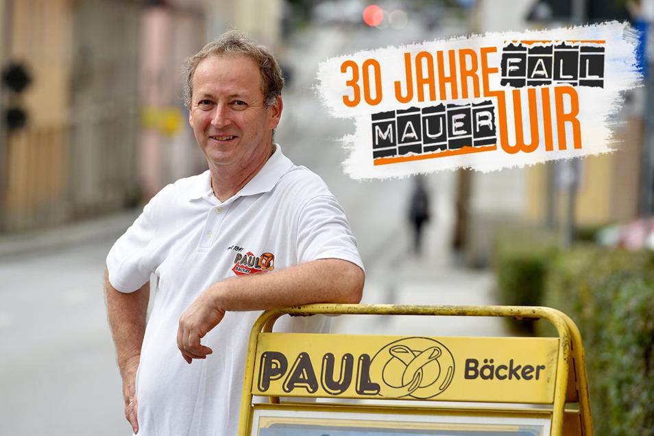 """Bäckermeister Gottfried Paul """" in Herrnhut."""