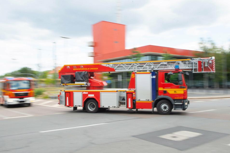 Die Feuerwehr musste am Freitagnachmittag zu einem Brand in die Innenstadt.