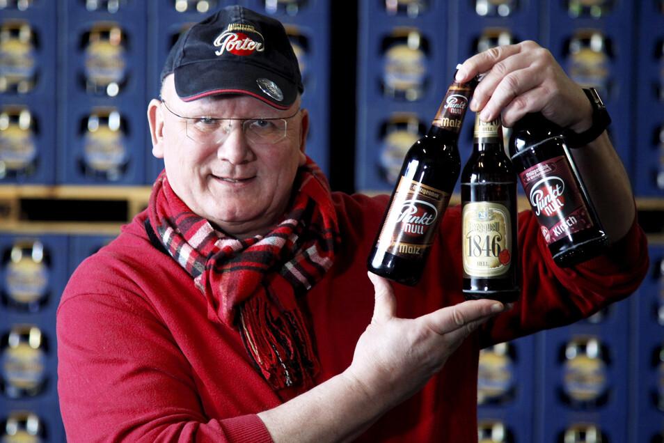 Steffen Dittmar ist Inhaber der Löbauer Bergquell-Brauerei.