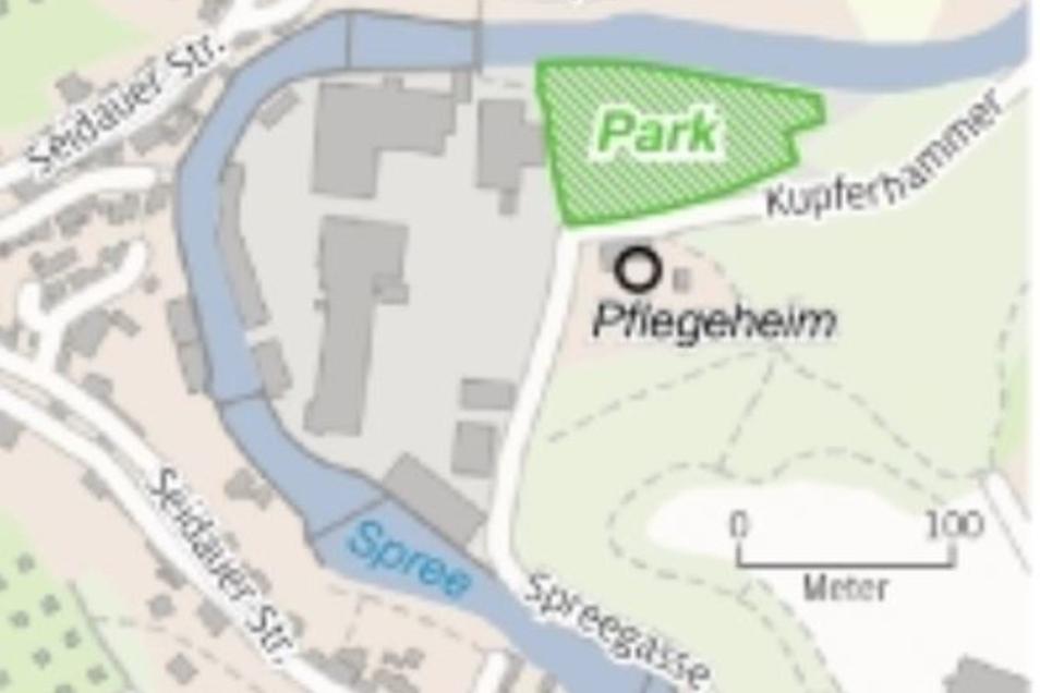 Hier entsteht der neue Park.
