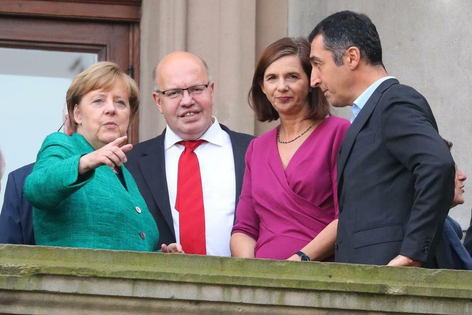 2017 scheiterte der schwarz-grüne Versuch einer Regierungsbildung noch an der FDP.