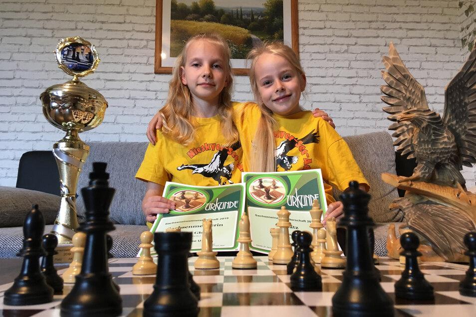 Erfolgreiche Cousinen: Diana (links) und Katharina.