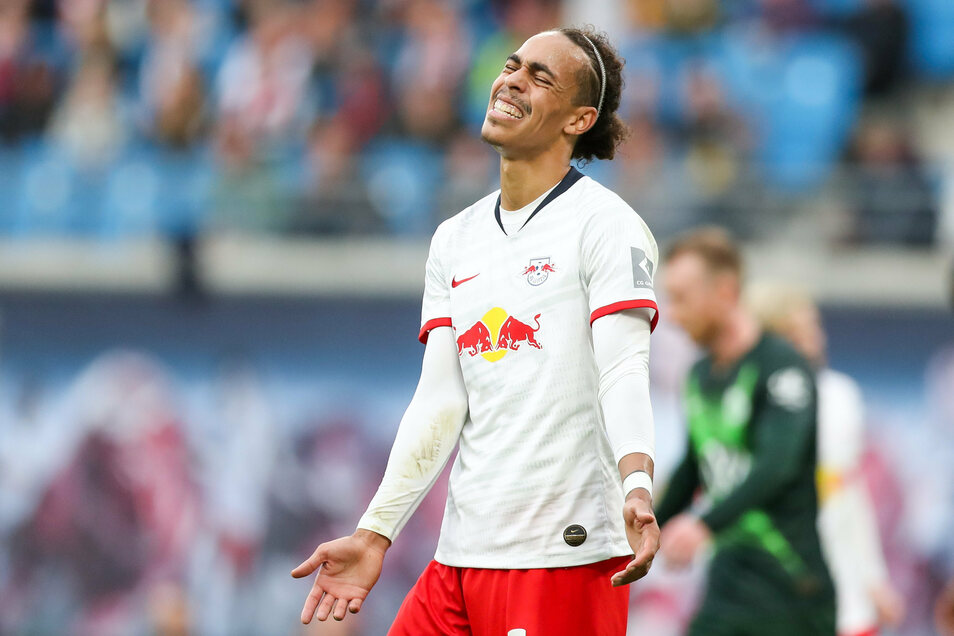 Auch das ist eine schmerzliche Erfahrung: Stürmer Yussuf Poulsen von RB Leipzig muss wegen der Corona-Pandemie seine Hochzeit verschieben.