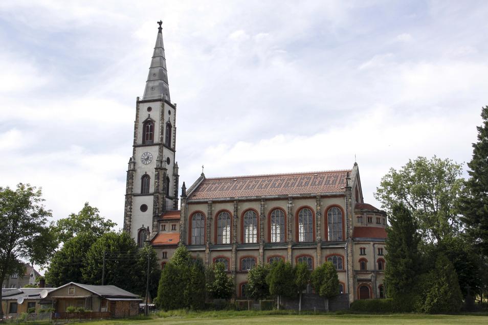 Die Christuskirche in Leutersdorf.