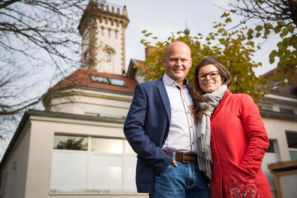 Carolin und Carsten Rühle vom Luisenhof.