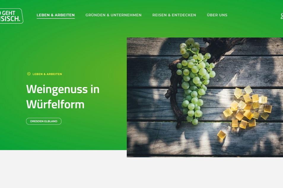Von der Weintraube zum Weingummi: Die Meißnerin Susanne Gebhardt hatte die Idee zu dieser neuen Nascherei aus Sachsen.