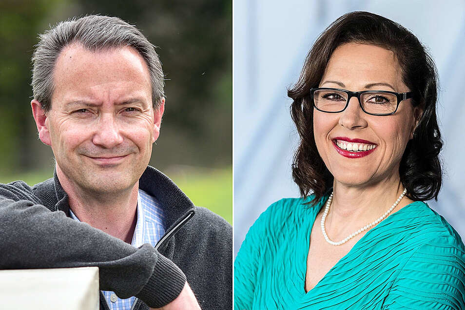 Jan Donhauser gegen Petra Nikolov heißt das CDU-interne Duell um den Posten des Bildungsbürgermeisters.
