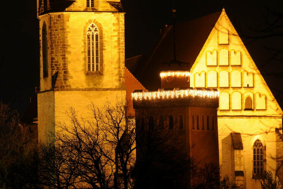 Auch in der Kamenzer Hauptkirche St. Marien finden an diesem Weihnachtsfest keine Christvespern statt. Doch die Türen öffnen sich Heiligabend von 14 bis 17.30 Uhr fürs persönliche Gebet und Innehalten.