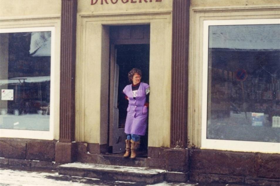 Unmittelbar nach der Wende machte sich Helga Förster selbstständig.