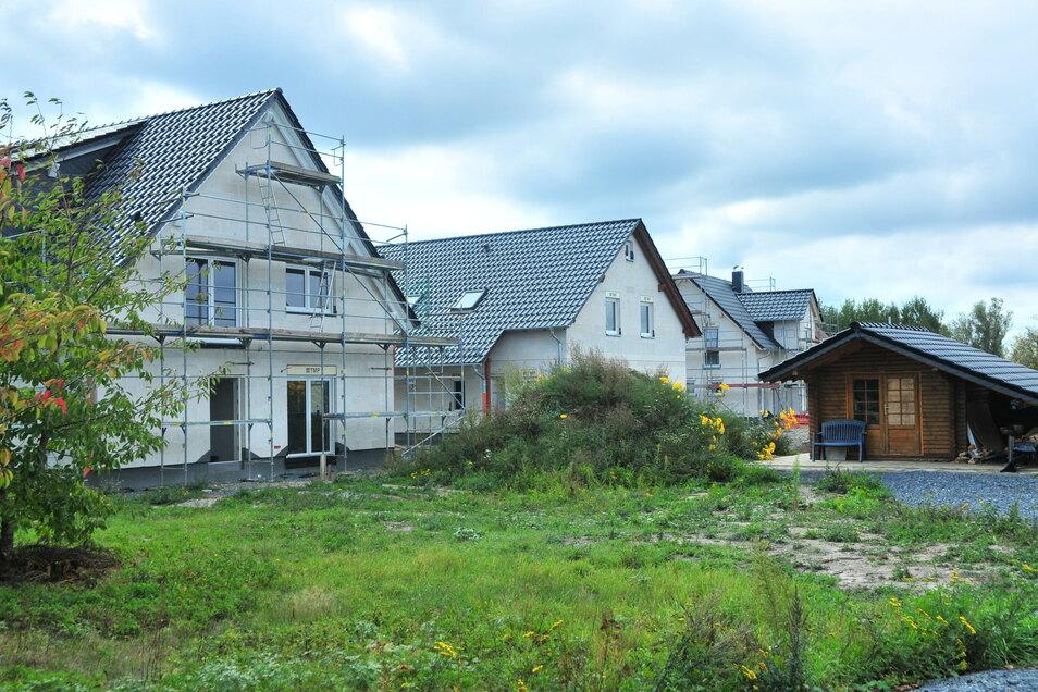 Neue Eigenheime in den Ortsteilen sind möglich und erwünscht, aber nur zur Abrundung der Dorfstruktur.