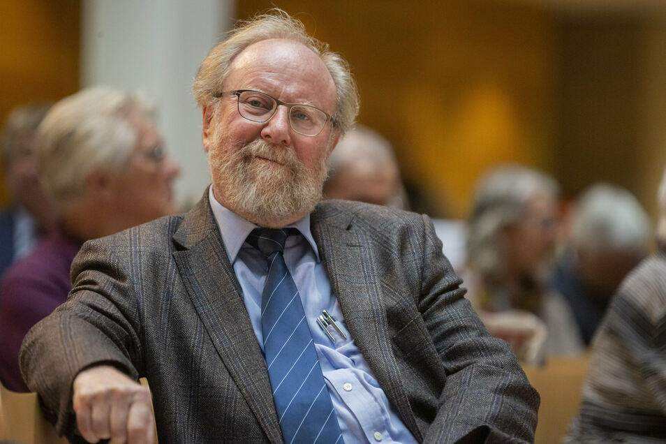 Diskutierte gestern beim Forum Frauenkirche: Wolfgang Thierse (SPD).