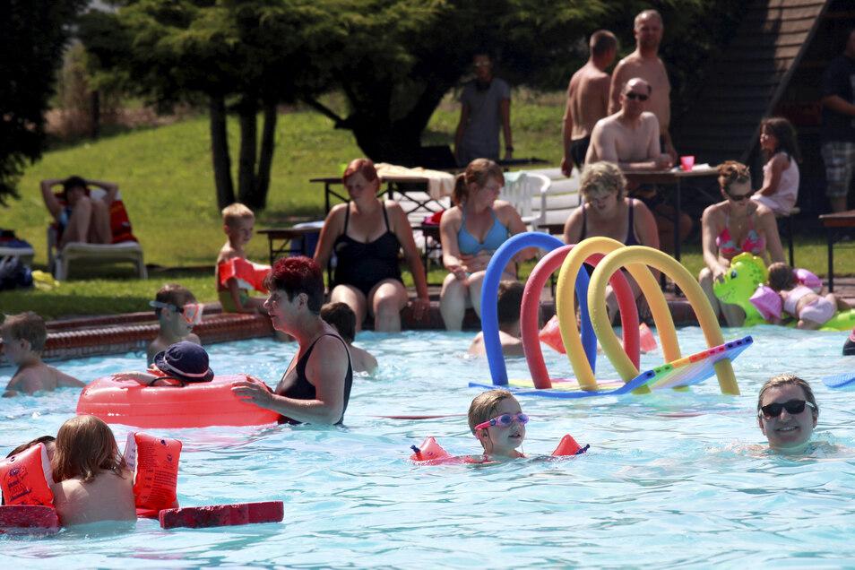 Das Ostritzer Mewa-Bad ist beliebt.