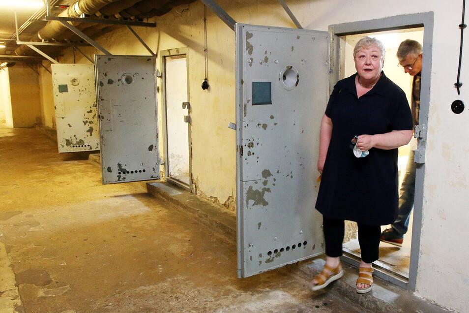 Evelyn Zupke besuchte wenige Tage nach Amtsantritt die Gedenkstätte in Berlin-Hohenschönhausen.
