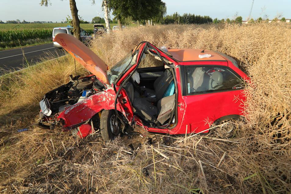 Schwerer Unfall am Samstagmorgen bei Soppen.