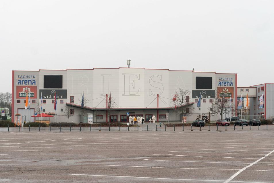 Die Riesaer Sachsenarena ist die mit Abstand größte Veranstaltungshalle der Region. Der Lockdown hat auf die Besucherzahlen durchgeschlagen: Sie ging von 219.000 im Jahr 2019 auf 54.000 (2020) zurück.